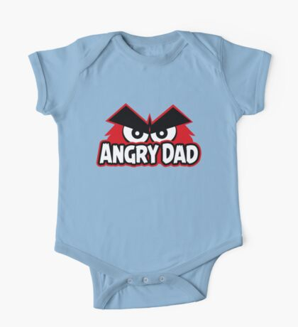 Angry Dad One Piece - Short Sleeve