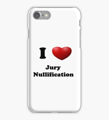 Get out of Jury Duty! iPhone Case/Skin