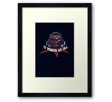 Chaos Space Marine Possessed Framed Print