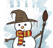 Gryffindor Christmas Card  by jessnnn