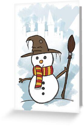 Gryffindor Christmas Card  by jessnnn