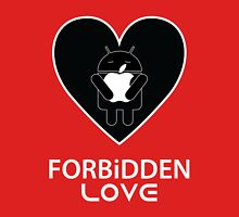 Forbidden Love // Apple & Android Sitting in a Tree Unisex T-Shirt
