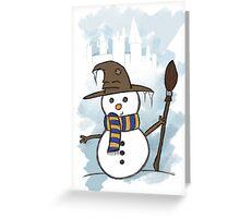 Ravenclaw Christmas Card  Greeting Card