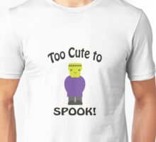 Too Cute to Spook Frankenstein Unisex T-Shirt