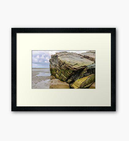 Rocks of Maghera Beach - Ireland #6 Framed Print