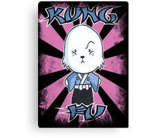 Bunny Fu Canvas Print