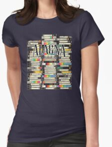 Alagna Pictures VHS  Womens Fitted T-Shirt