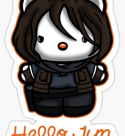Hello Jyn Sticker