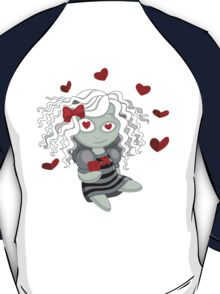 Loving doll giving her heart T-Shirt