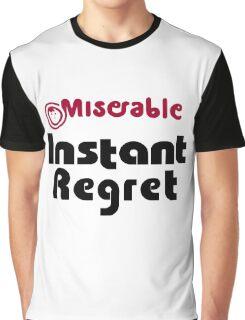 Instant Regret - Maruchan Parody Graphic T-Shirt