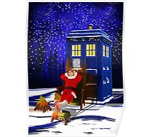 The Doctor Relax before Christmas Poster