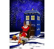 The Doctor Relax before Christmas Photographic Print