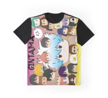 Gintama TsumTsum collection Graphic T-Shirt