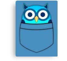 Pocket owl Canvas Print