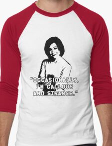 WILLOW ROSENBERG; Callous and Strange Men's Baseball ¾ T-Shirt