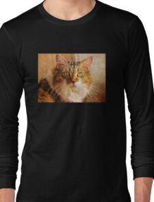 Cat Portrait – Pretty Girl     Long Sleeve T-Shirt