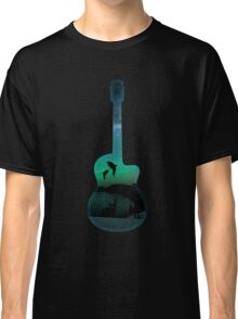 guitar dolphins Classic T-Shirt