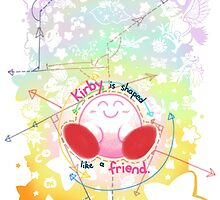 Kirby is shaped like a friend by triple-q