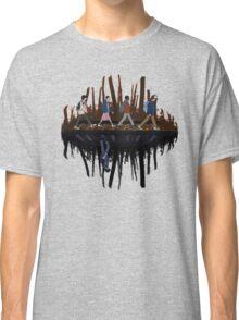 Stranger Abbey Road - Upside down Classic T-Shirt