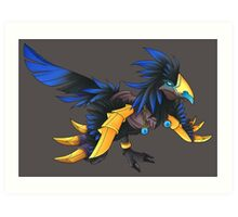 Anzu the Raven Lord Art Print