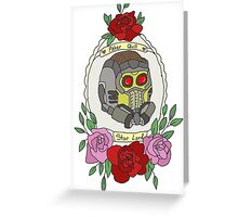 Star Lord Greeting Card