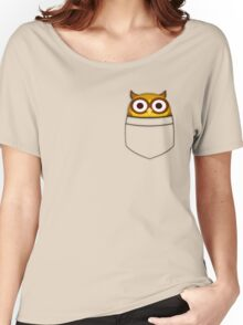 Pocket owl Women's Relaxed Fit T-Shirt