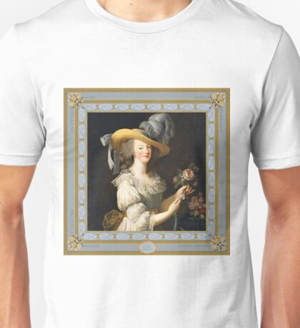 Marie Antoinette Queen of Style Unisex T-Shirt