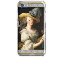 Marie Antoinette Queen of Style iPhone Case/Skin