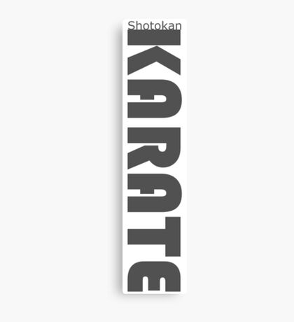 Shotokan Karate Canvas Print