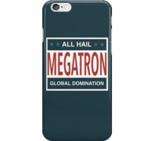 All Hail Megatron iPhone Case/Skin