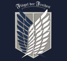 Reluctant Heroes T-Shirt / Phone case / Pillow 1 - Shingeki no Kyojin by Fenx