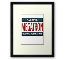 All Hail Megatron - III Framed Print