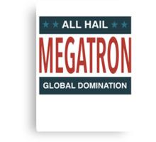 All Hail Megatron - III Canvas Print