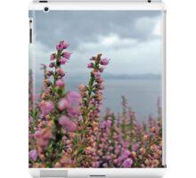 Heather in full bloom iPad Case/Skin