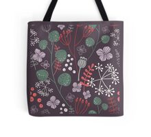 Serenity - Winter Flowers Tote Bag