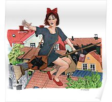 Out for Deliveries - Kiki's Delivery Service Poster