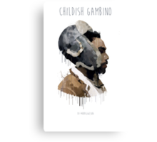 Gambino Droplet No Background Canvas Print