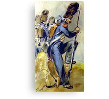 Napoleon Bonaparte 's Imperial Guard Canvas Print