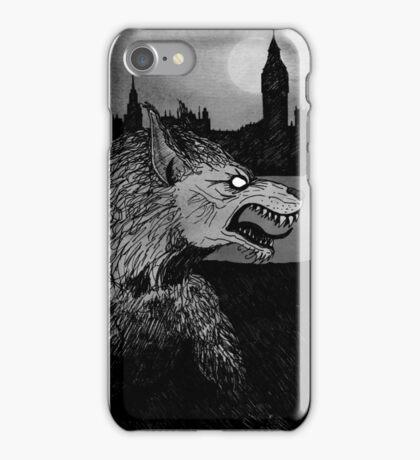 Werewolf in London iPhone Case/Skin