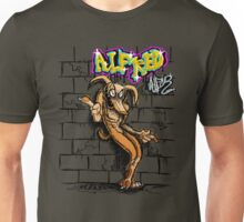 Alfred on a Wall Unisex T-Shirt
