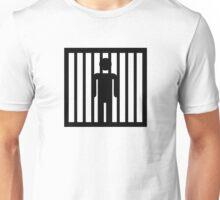 Prison jail arrest Unisex T-Shirt