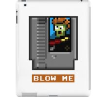 BLOW THE CARTRIDGE Nintendo NES iPad Case/Skin