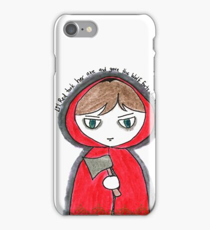 Once Upon a Crime - Li'l Red iPhone Case/Skin