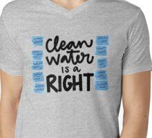 Water - Flint Child Health & Development Fund  Mens V-Neck T-Shirt