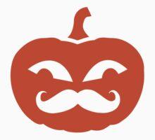 Pumpkin mustache by Designzz