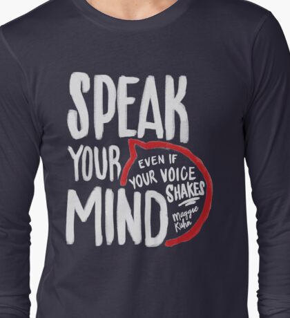 Speak Your Mind - Planned Parenthood Long Sleeve T-Shirt