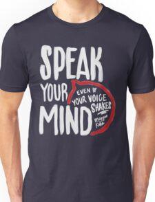 Speak Your Mind - Planned Parenthood Unisex T-Shirt