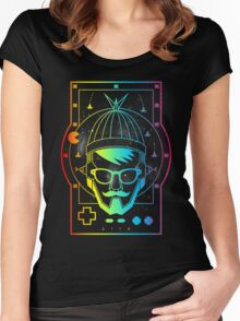 THE FUTURE GEEK Women's Fitted Scoop T-Shirt
