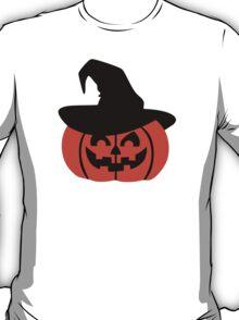 Halloween pumpkin hat T-Shirt