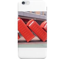 Leaning Telephone Boxes, Kingston iPhone Case/Skin